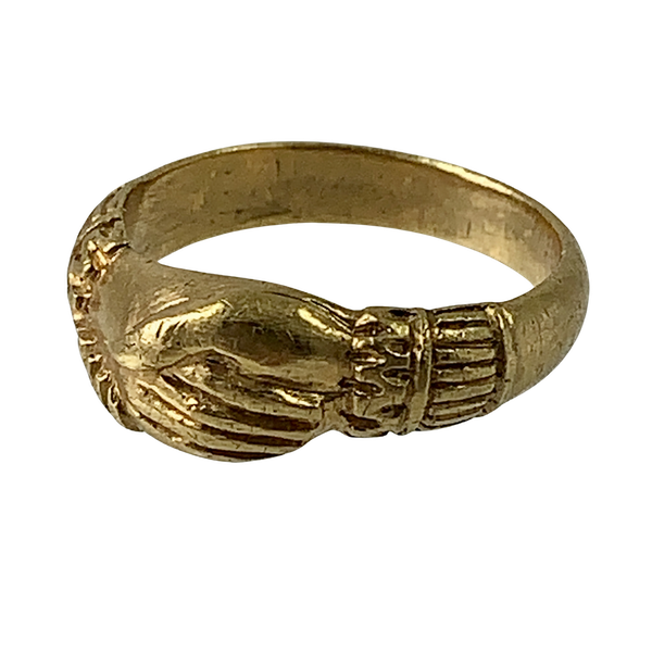 Ca 1620 Fede ring - image 1