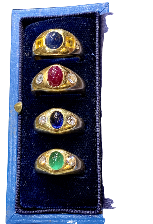 Pretty selection gypsy rings - image 1