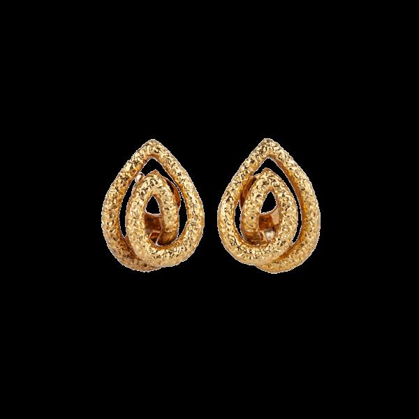 VCA gold earrings - image 1