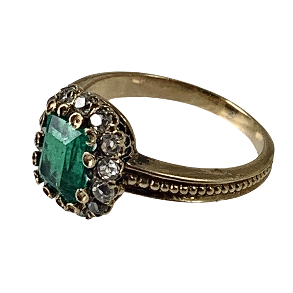Colombian emerald ring - image 1