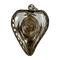 Seventeenth century silver and rock crystal reliquary with the original relic inside - image 1