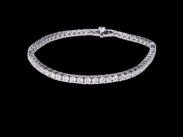 5ct diamond tennis bracelet  DBGEMS - image 1
