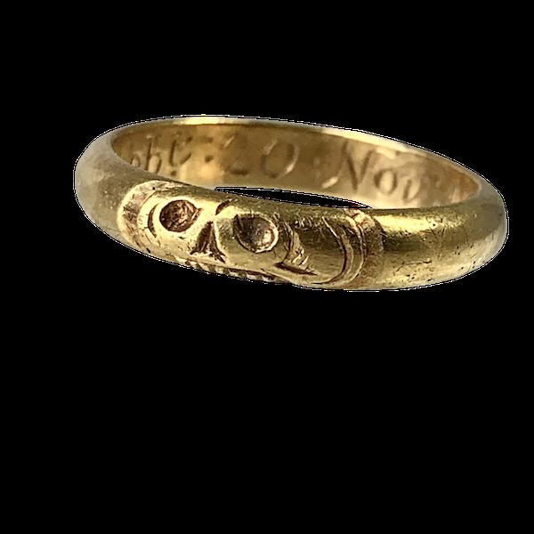 1716 Memento Mori ring - image 1