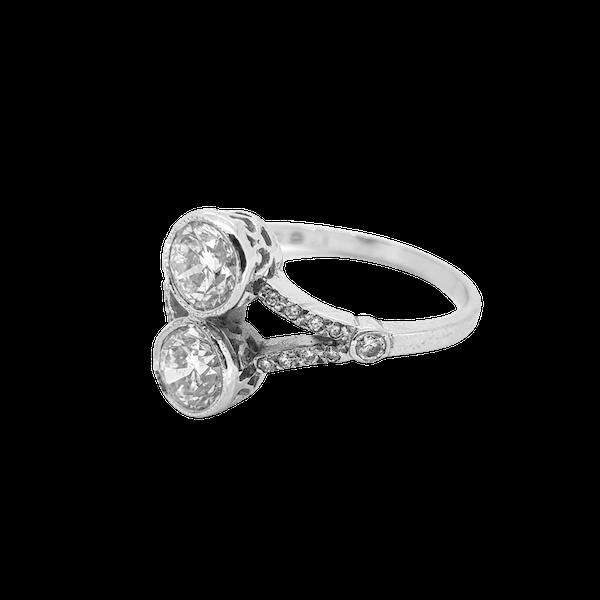 Toi et Moi Diamond Ring 1.60cts - image 1