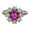 A Delicate Natural Ruby Cluster Ring Offered by The Gilded Lily - image 1