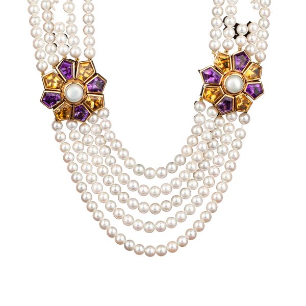 A Convertible Pearl Necklace Offered by The Gilded Lily - image 1
