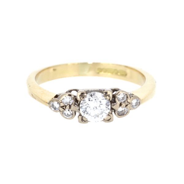 0.40ct Diamond Solitaire Ring. S.Greenstein - image 1