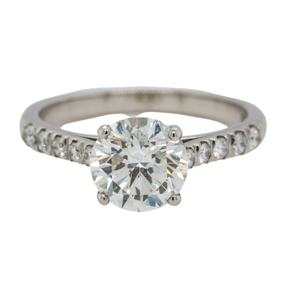A Solitaire Diamond Engagement Ring Offered by The Gilded Lly - image 1