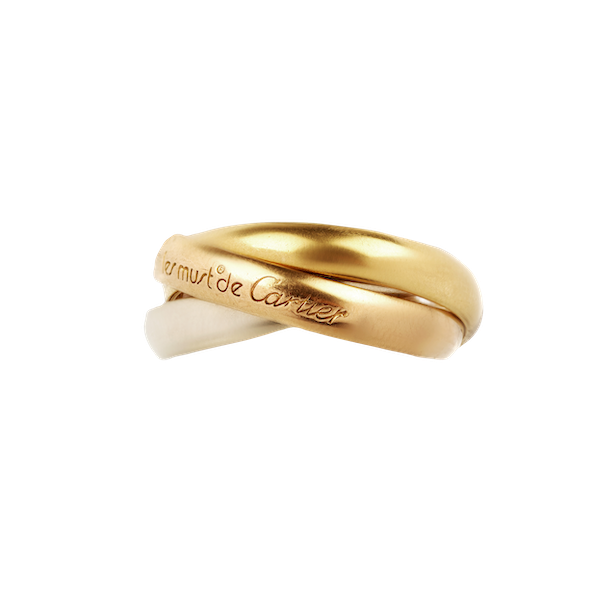 A Trinity Ring by Cartier - image 1