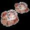 Pair Japanese Imari plates - image 1