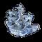 Japanese blue and white Arita ware boat - image 1