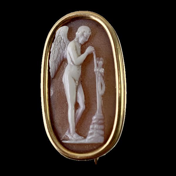 Agate cameo of Eros ca 1800 - image 1