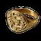 Gold merchant's ring - image 1