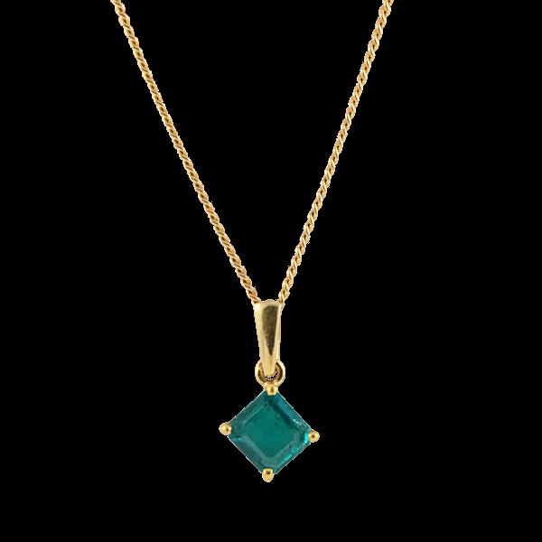 Emerald Pendant - image 1