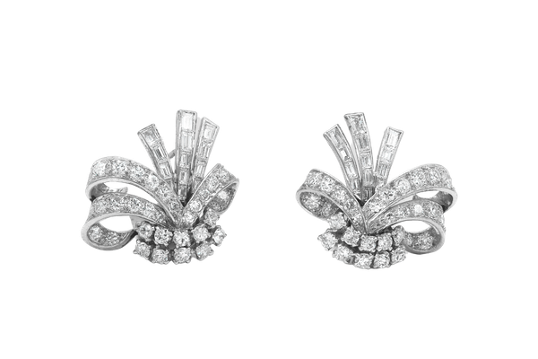 Diamond earrings - image 1