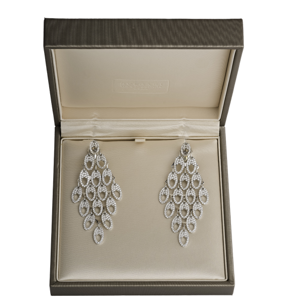 Bvlgari Diamond Earrings - image 1