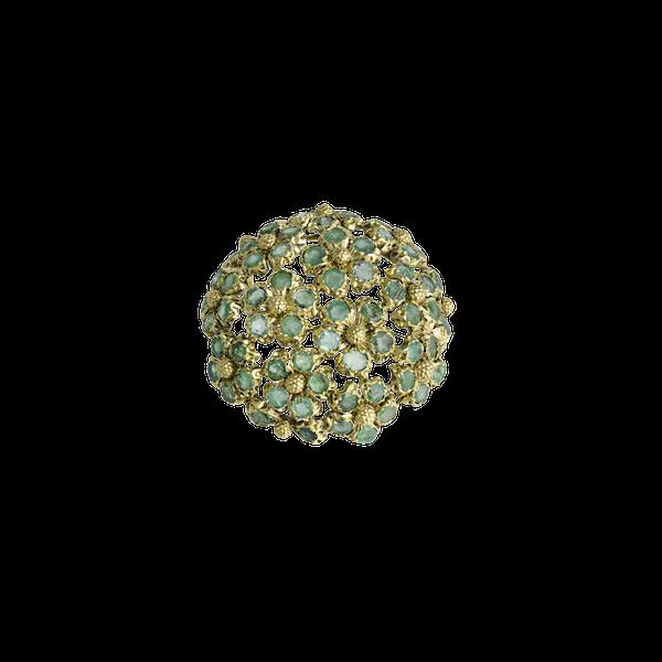 Bvlgari Emerald Broach - image 1