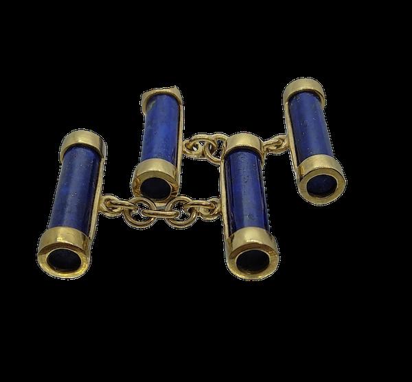 Lapis Lazuli Cufflinks - image 1