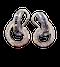 Sapphire and Diamond Swirl Earrings - image 1