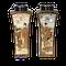 Pair Japanese Satsuma square vases - image 1