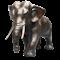 Japanese Bronze Elephant Figure Meiji Period - image 1