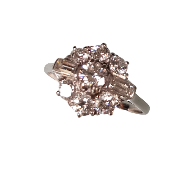 A Diamond Cluster Ring Offered by The Gilded Lily - image 1