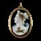 Eighteenth century cameo of Diana - image 1