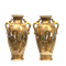 Pair Japanese Satsuma Vases, Meiji period, 19 c. - image 1