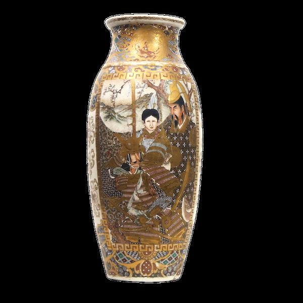 Japanese satsuma vase - image 1
