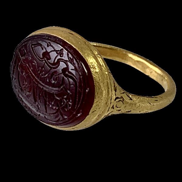 Seventeenth century Ottoman ring - image 1