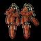Pair of ca 1820 coral earrings - image 1