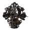 Eighteenth century silver basket with diamonds - image 1