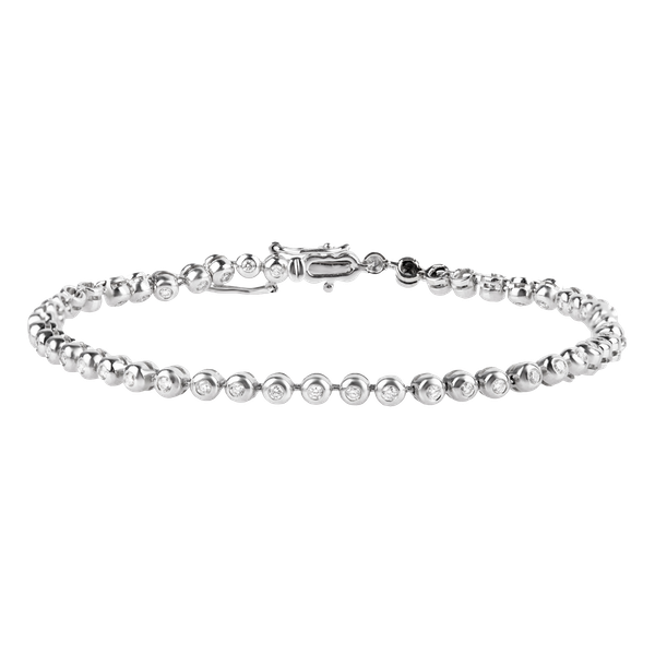 Diamond Tennis Bracelet - image 1