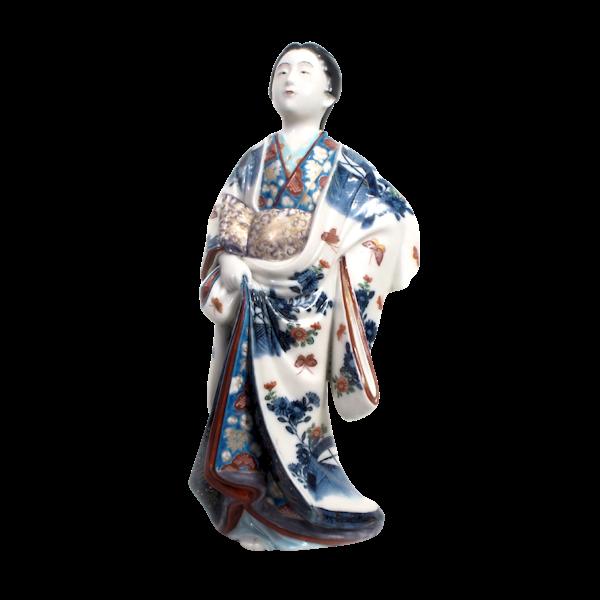 Japanese porcelain figure of a Bijin lady - image 1