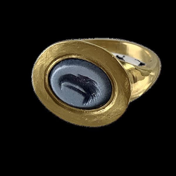 Ancient intaglio ring - image 1