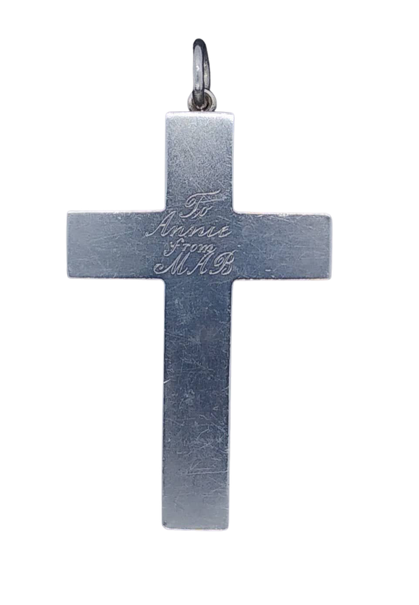 Antique Silver Cross - image 1