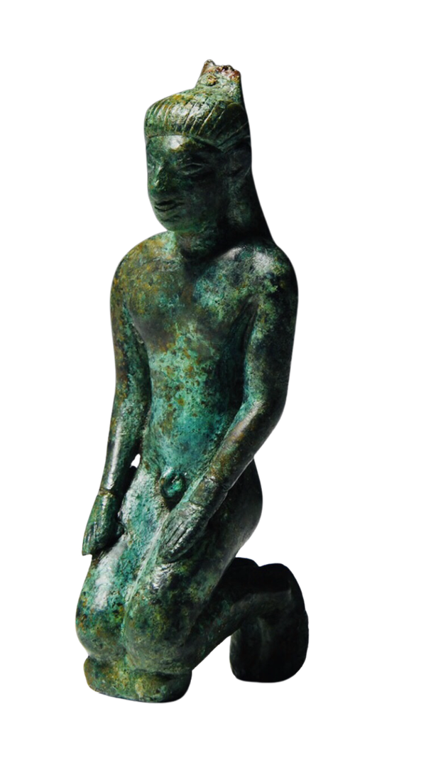 Greek bronze statue - image 1