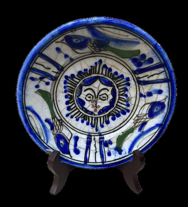 Early Qajar Dish - image 1