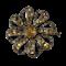 Eighteenth century Portuguese topaz brooch - image 1