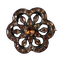 Eighteenth century topaz brooch - image 1