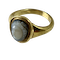 Ancient Roman cameo of Medusa in later gold ring - image 1