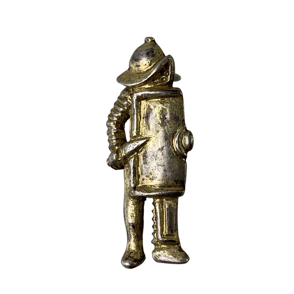 Ancient Roman gilt silver cloak pin - image 1