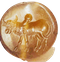 Agate scarab - image 1
