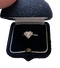 Heart shaped Diamond ring - image 1