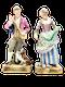 Pair of 19th century Meissen figures - image 1
