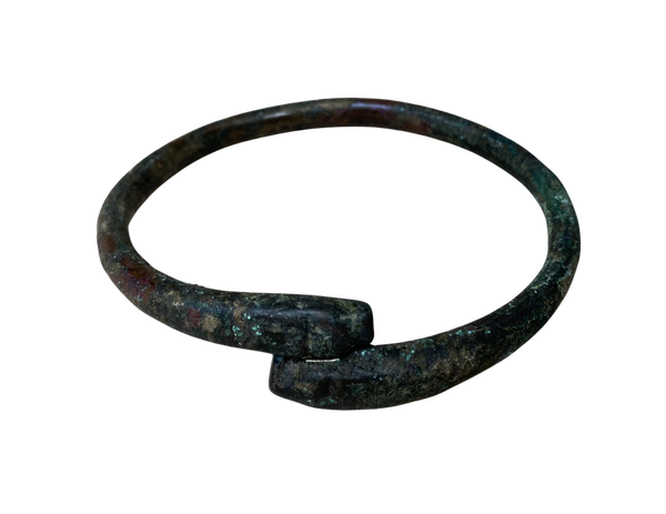 Roman Bronze Bangle - image 1