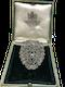 Art Deco Diamond Broach - image 1