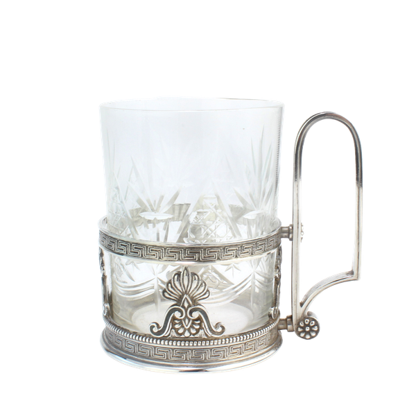 Faberge silver tea glass holder, Moscow c.1900 - image 1