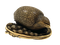 Japanese Netsuke of a quail - image 1