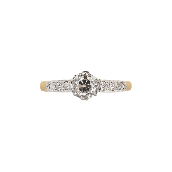 A Diamond Gold ring - image 1